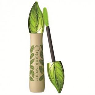 Черная органическая тушь для ресниц Organic Wear Mascara / Длина и объем