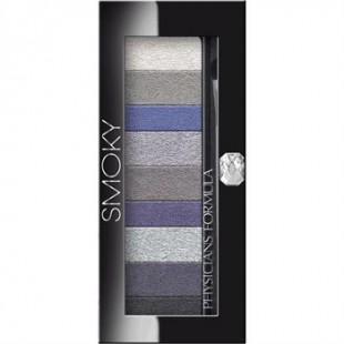Набор теней для век с кисточкой Custom Eye Enhancing Shadow & Liner Smoky / 9 цветов для отличного Smoky