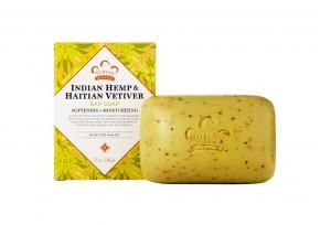 Африканское мыло c индийской коноплей и гаитянским ветивером