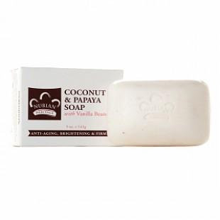 Африканское мыло с маслом кокоса и папайи