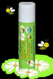Органический бальзам для губ Мятный взрывной с витамином Е, 15 oz (4.25 g)