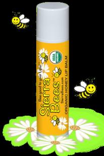 Органический бальзам для губ Медовый с витамином Е, 15 oz (4.25 g)
