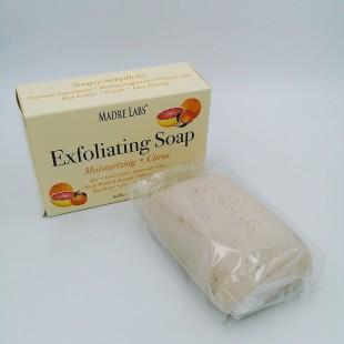 Отшелушивающее мыло с маслом ши, марулы и таману, цитрус