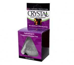 Дезодорант Crystal Body Rock (с блюдечком)