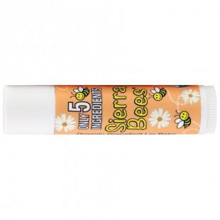 Органический бальзам для губ с Грейпфрутом и витамином Е, 15 oz (4.25 g)