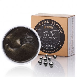 Гидрогелевые патчи под глаза Petitfee Black Pearl & Gold Hydrogel Eye Patch